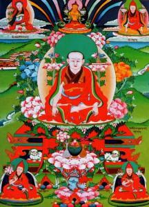 寧瑪之源噶陀開山祖師---如來 - 噶當巴德協西熱森格