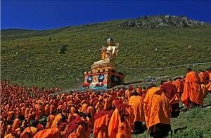2011年噶陀金剛座   噶當巴德協西熱森格大師紀念法會